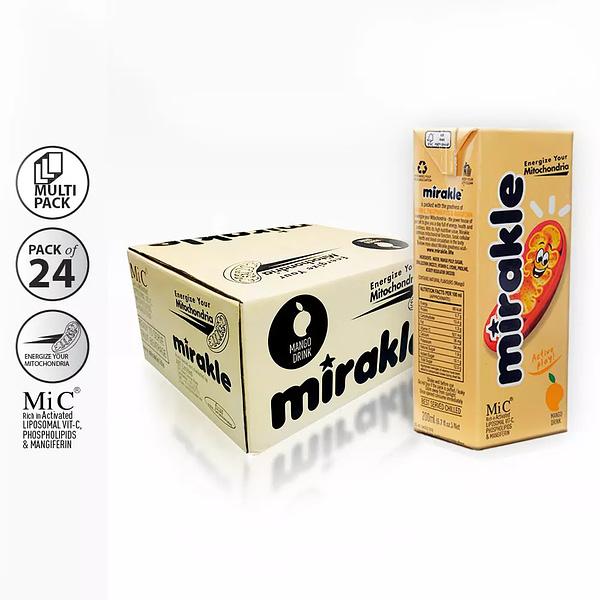Buy Vitamin C Drink Online - 24 Pack Mirakle Drink