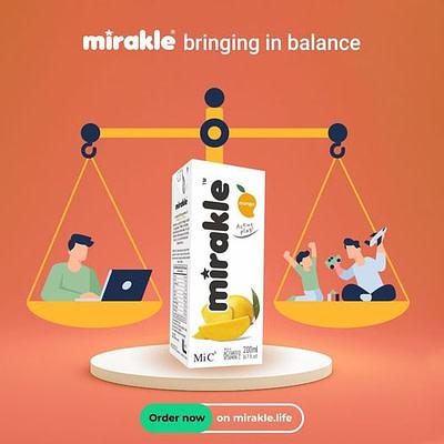 Mirakle social media post
