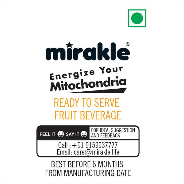 Added Sugar Mirakle Drink Usage Details