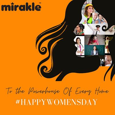 Women's day post - Mirakle Vit C supplement